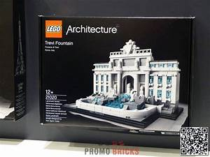 LEGO Architecture Trevi Fountain 21020 Revealed At ...