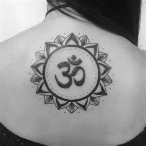 Om Symbol Mandala Tattoo