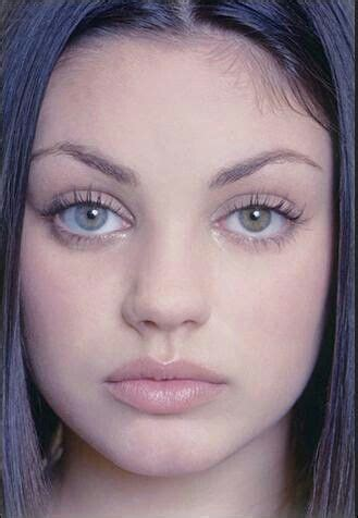 Mila Kunis Different Colored Eyes