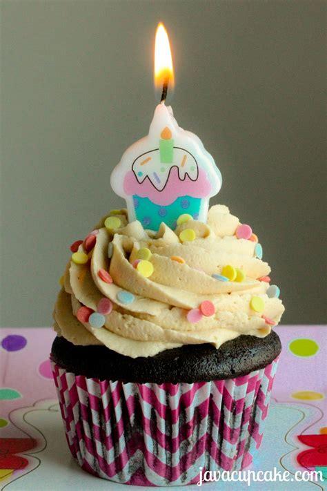 birthday cupcake pb j chocolate birthday cupcakes javacupcake