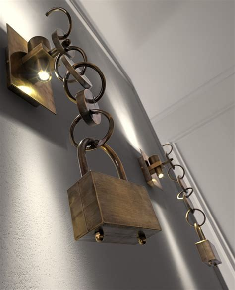 funky wall lights rings by sigma l2