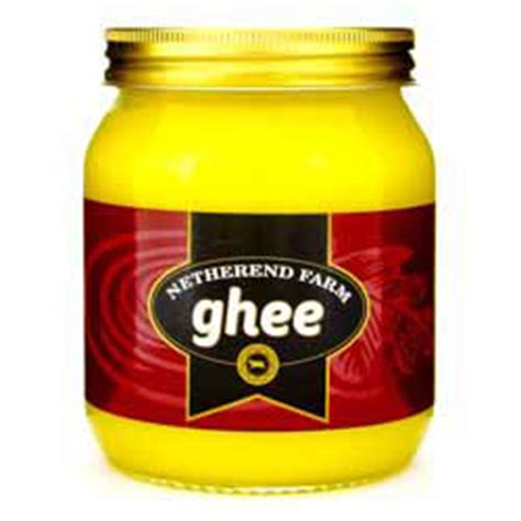 Pure Butter Ghee (nonorganic)  Netherend Farm Ghee