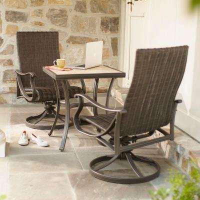 Bistro Sets  Patio Dining Furniture  The Home Depot. Small Patio Swing Set. Cool Backyard Patio Ideas. Patio Design Cost. Plastic Outdoor Furniture Dubai