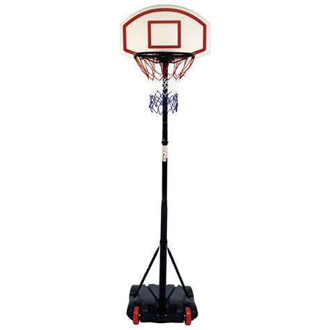 Free Standing Basketball Net Hoop Backboard Adjustable