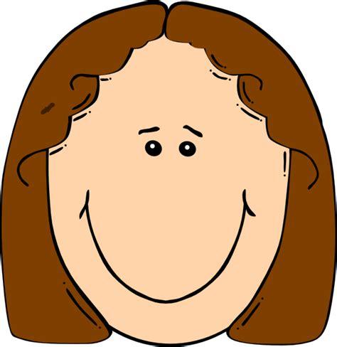 Clip Faces Happy Brown Clip At Clker Vector Clip