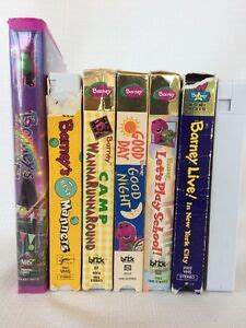 Barney And The Backyard Vhs by Barney And The Backyard Friends Vhs Lot 7