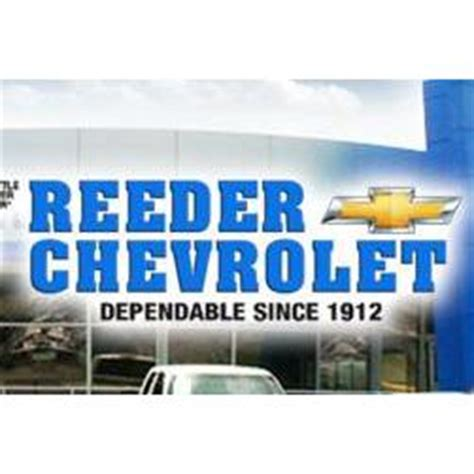 Reeder Chevrolet reeder chevrolet in knoxville tn 37912 citysearch