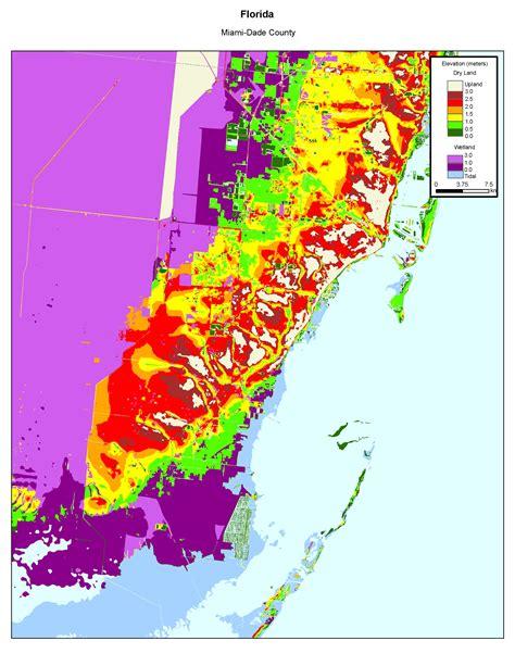 more sea level rise maps of florida 39 s atlantic coast