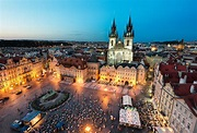 Prague City Most Popular Destination with Attractive Night ...
