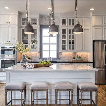 backsplash in kitchen pictures white and gray kitchen with gray window trim moldings 4266