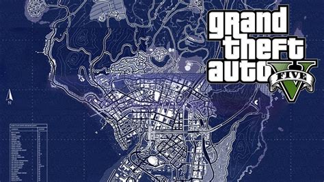 Map Size, Scale And Perspective (gta V)