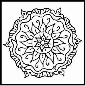 Mosaic Patterns Coloring Pages - Coloring Home