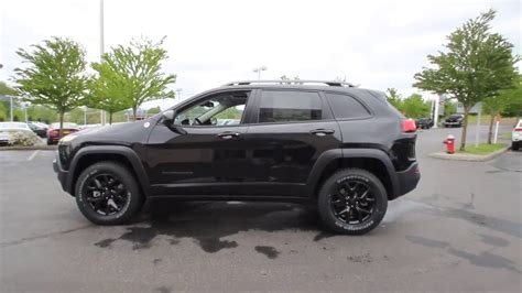 2016 jeep cherokee sport black rims 2016 jeep cherokee trailhawk brilliant black crystal