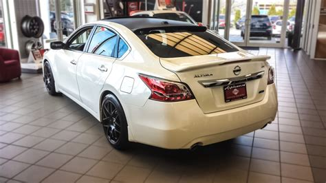 nissan altima modified showroom beauty applewood nissan 39 s modified altima