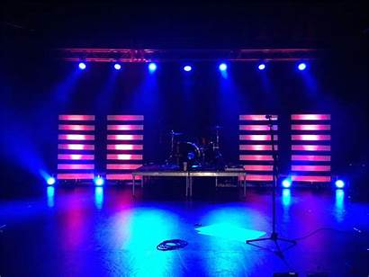 Stage Lighting Church Simple Lights Lines Proper
