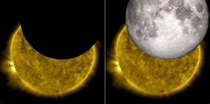 The Moon And Sun  Two Nasa Missions Join Images