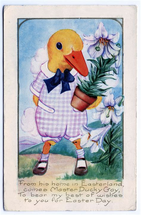 vintage clip art  fabulous easter cards  graphics