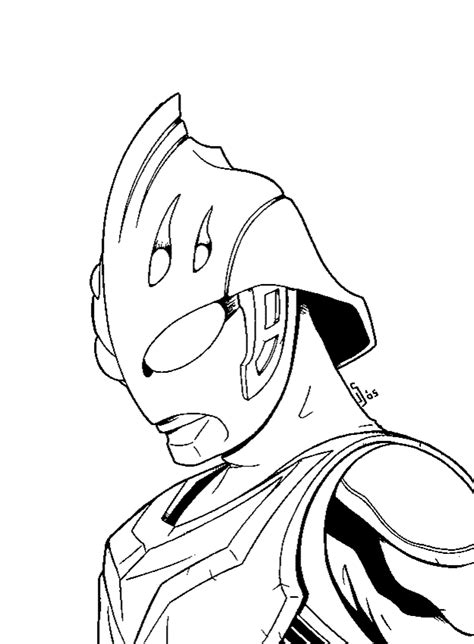 Ultraman Leo Free Coloring Pages