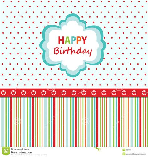 Wallpaper Of Birthday Card by Happy Birthday Greeting Card Stock Image Image 32993941