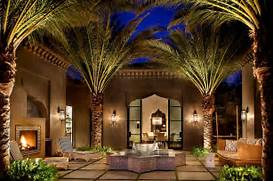 Moroccan Patios Courtyards Ideas Photos Decor And Inspirations Design Beautiful Designer Outdoor Lighting Fixtures Yellowish Nuance Tips Hgtv Get An Inside Look At The White House Luxury Home Interior LED Exterior Light Fixtures House Lighting