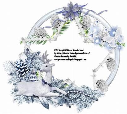 Winter Cluster Wonderland Ftu Frames
