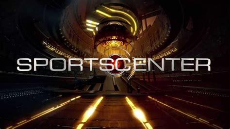 espn sportscenter  theme song  actual  set video