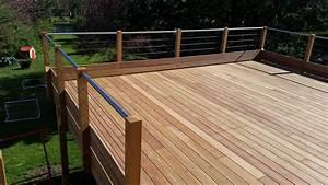 Prix Terrasse Bois : beau garde corps terrasse prix 9 terrasse bois ~ Edinachiropracticcenter.com Idées de Décoration