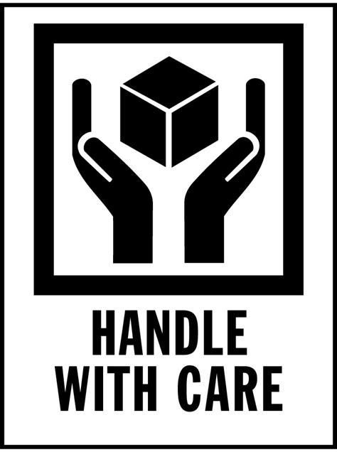 handle  care international safe handling label