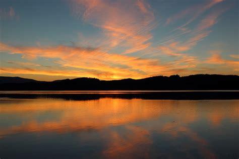 Free photo: Dusk, Sunset, Landscape, Summer - Free Image