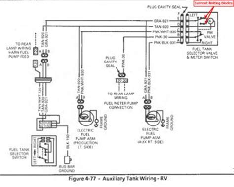 Ford Fuel Tank Selector Valve Wiring Diagram by 1987 Fuel Selector Valve Help Gm Square 1973