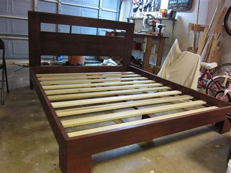 How To Make A Bed Frame With Headboard And Footboard by How To Build A Beautiful Custom Bed Frame For 300