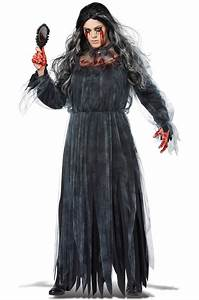 Bloody Mary Horror Ghost Legend Plus Size Costume