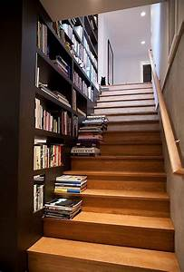 how to build a staircase bookshelf diy projects for