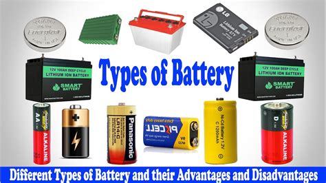 Types Of Battery │ Different Types Of Battery