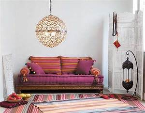 inspirations marocaines floriane lemarie With tapis oriental avec jetée de canapé maison du monde