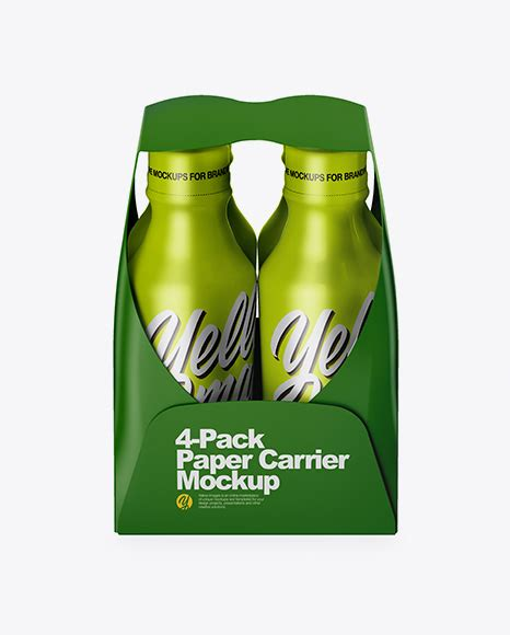 You can customize this to mockup your any other product, comes with movable objects, editable backgrounds, color variations, cap variations etc… the layers in psd file are segregated and colorized. Download Psd Mockup 4 Pack Bottle Carrier Carton Drink ...