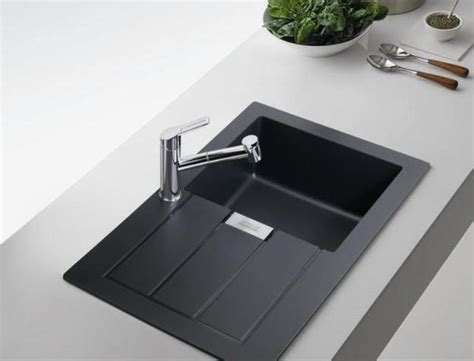 deep black kitchen sink black kitchen sinks countertops and faucets 25 ideas