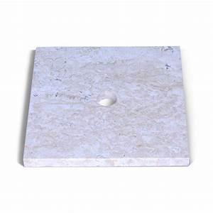 Platte Für Waschtisch : marmor waschtisch platte smini creme 40x40x3cm bei wohnfreuden kaufen ~ Markanthonyermac.com Haus und Dekorationen