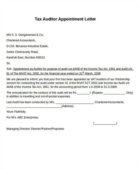 resolution  appointment  auditor appointment