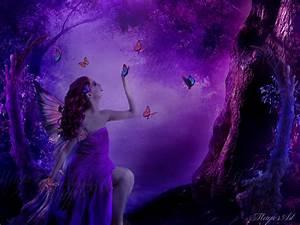 Purple Fairy by magicsart on DeviantArt