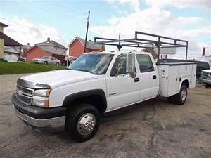 Chevrolet 3500 Silverado Utility Truck Service Dually