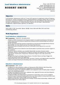 Resume Samples Salesforce Administrator Resume Samples Qwikresume