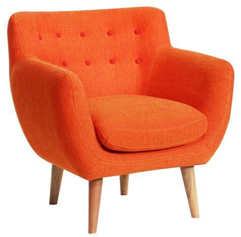 bureau sentou fauteuil rembourré coogee mandarine boutons