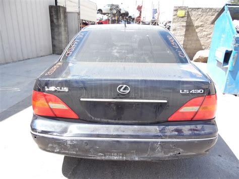 navy blue lexus 2001 lexus ls430 navy blue 4 3l at z17733 rancho lexus
