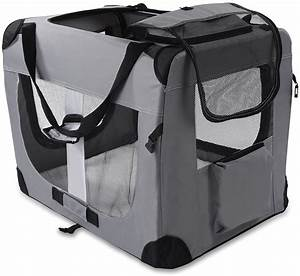 dog crate soft sided pet carrier foldable training kennel With xl portable dog crate