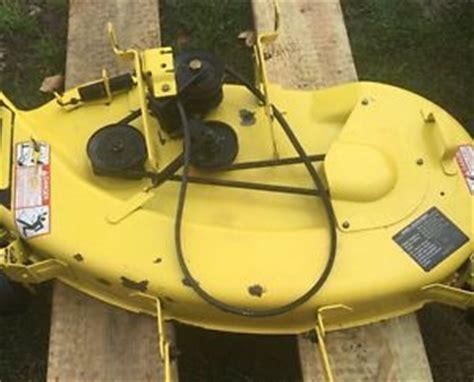 john deere stx38 yellow deck parting out mower ebay