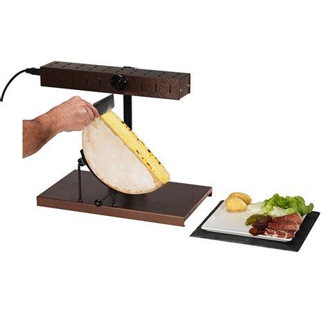 appareil cuisine conviviale appareil à raclette alpage 900 w raclettes fondues et