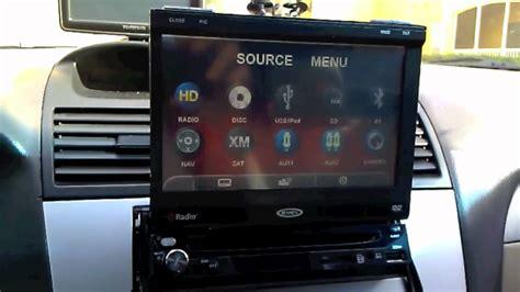 jensen vm car stereo install   toyota camry solara