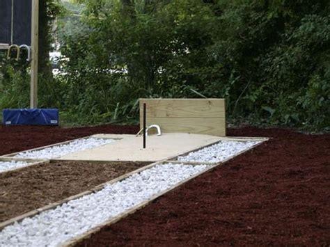 ideas horseshoe pit images  pinterest backyard ideas garden ideas  outdoor ideas