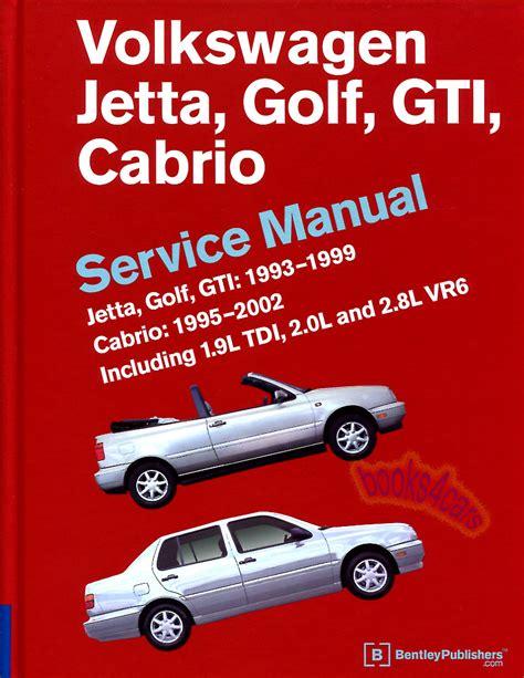 car maintenance manuals 2004 volkswagen gti free book repair manuals volkswagen vw jetta golf gti shop manual service repair book robert bentley book ebay